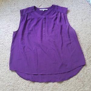 Purple blouse size xl